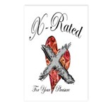 X-Rated Postcards (Package of 8)