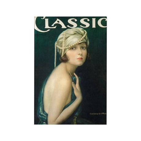 Corinne Griffith 1921 Rectangle Magnet