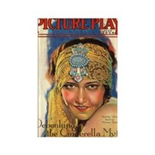 Dorothy Sebastian 1928 Rectangle Magnet