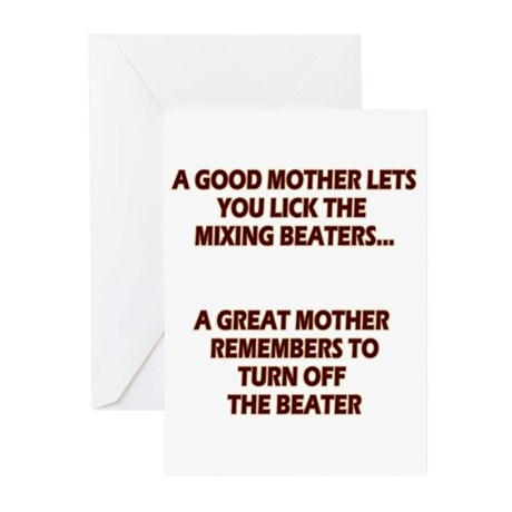 Good Moms, Great Moms Greeting Cards (Pk of 10)