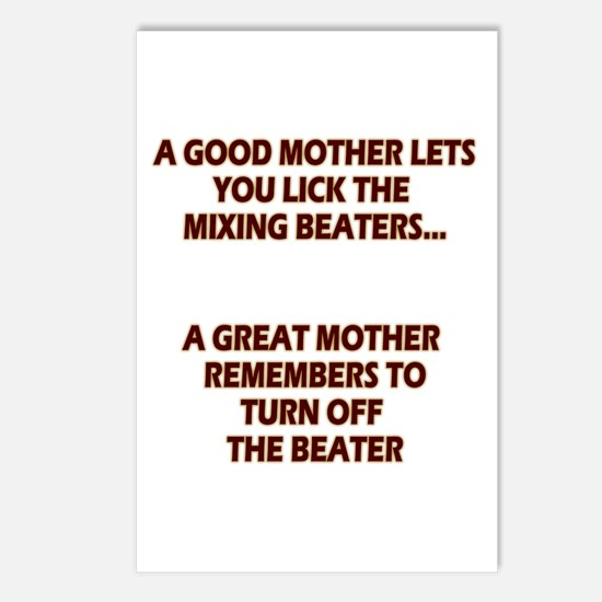 Good Moms, Great Moms Postcards (Package of 8)