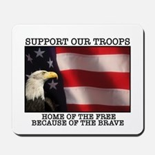 Support Our Troops Mousepad