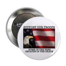 "Support Our Troops 2.25"" Button (10 pack)"