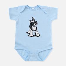 Playful Schnauzer Infant Bodysuit