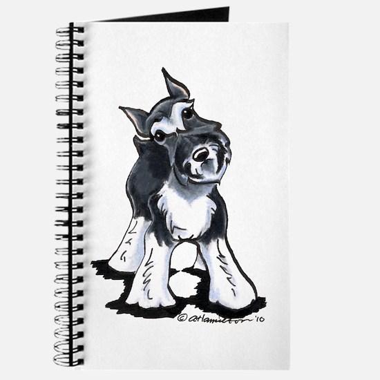 Playful Schnauzer Journal