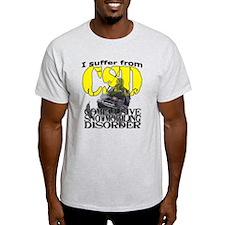 CSD Compulsive Snowmobile Disorder T-Shirt