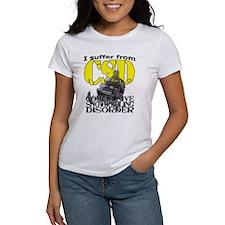 CSD Compulsive Snowmobile Disorder Tee
