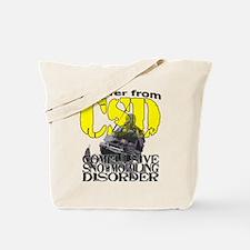 CSD Compulsive Snowmobile Disorder Tote Bag