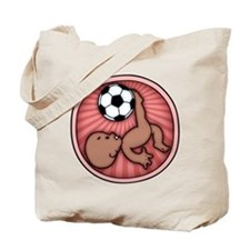 Soccer Baby Kick -DS Tote Bag