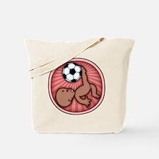 Soccer Baby Kick -DS Tote Bag