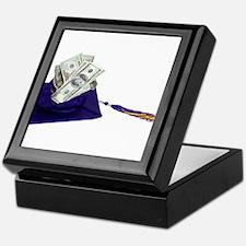 Graduation Cap full of Money Keepsake Box