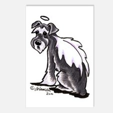 Schnauzer Angel Postcards (Package of 8)