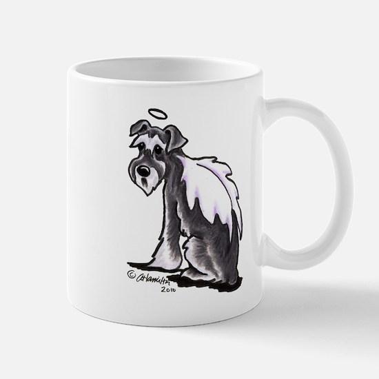 Schnauzer Angel Mug