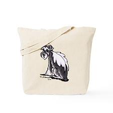 Schnauzer Angel Tote Bag