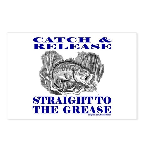 CATCH AND RELEASE Postcards (Package of 8)