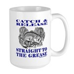 CATCH AND RELEASE Large Mug
