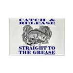 CATCH AND RELEASE Rectangle Magnet (10 pack)