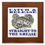 CATCH AND RELEASE Framed Tile