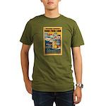 Foods from Corn Organic Men's T-Shirt (dark)