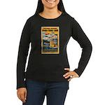 Foods from Corn Women's Long Sleeve Dark T-Shirt