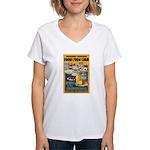 Foods from Corn Women's V-Neck T-Shirt