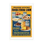 Foods from Corn Mini Poster Print