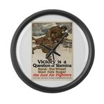 A Question of Stamina Large Wall Clock