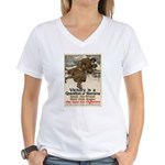 A Question of Stamina Women's V-Neck T-Shirt