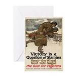 A Question of Stamina Greeting Card