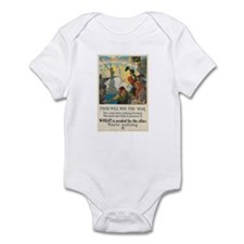 Food Will Win the War Infant Bodysuit