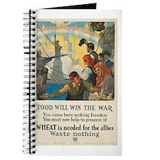 Food Will Win the War Journal