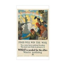 Food Will Win the War Decal