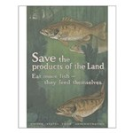 Save the Products of the Land Small Poster