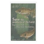 Save the Products of the Land Postcards (Package o