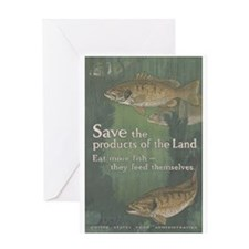 Save the Products of the Land Greeting Card
