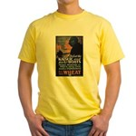 Use Less Wheat Yellow T-Shirt