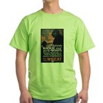 Use Less Wheat Green T-Shirt