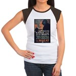 Use Less Wheat Women's Cap Sleeve T-Shirt