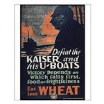 Use Less Wheat Small Poster