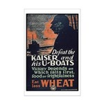 Use Less Wheat Mini Poster Print