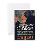 Use Less Wheat Greeting Card