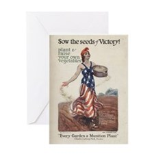 Sow the Seeds of Victory Greeting Card