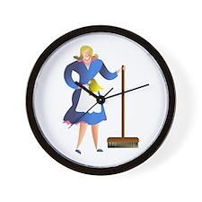 Housewife Wall Clock