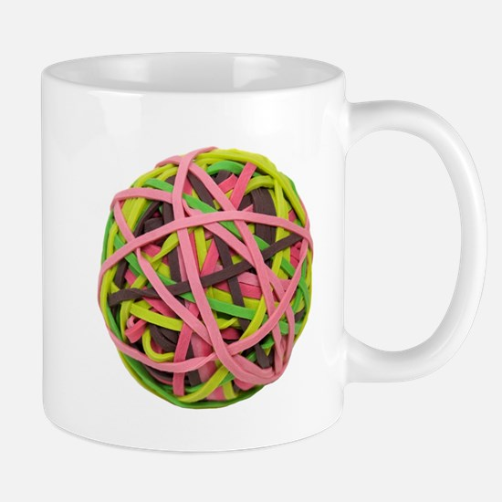 Rubberband Ball Mug