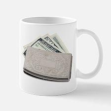 Silver Money Holder Mug