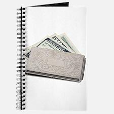 Silver Money Holder Journal