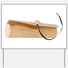 Wooden Tubular Envelope Yard Sign