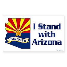 SB1070 - I Stand With Arizona Decal