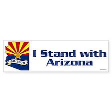 SB1070 - I Stand With Arizona Bumper Sticker