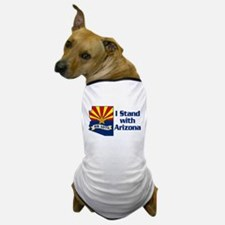 SB1070 - I Stand With Arizona Dog T-Shirt